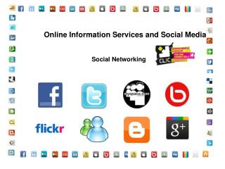 Online Information Services and Social Media