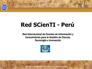 Red SCienTI - Perú