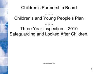 Children's Partnership Board