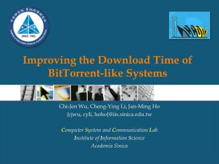 Improving the Download Time of BitTorrent-like Systems