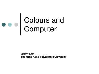 Colours and Computer