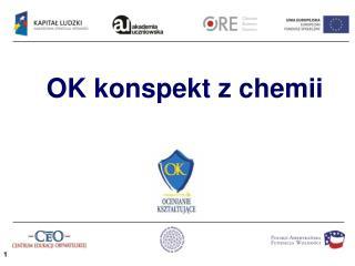 OK konspekt z chemii