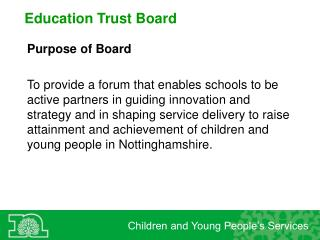 Education Trust Board