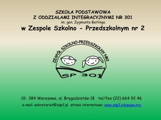 01- 384 Warszawa, ul. Brygadzist�w 18   tel/fax (22) 664 92 46