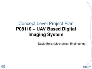 Concept Level Project Plan P08110 – UAV Based Digital Imaging System
