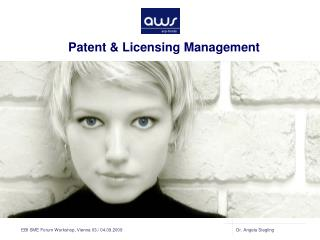 Patent & Licensing Management