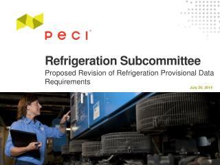 Refrigeration Subcommittee