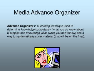 Media Advance Organizer