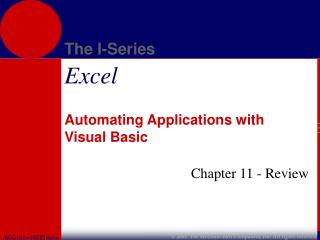Automating Applications with Visual Basic