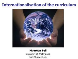 Internationalisation of the curriculum