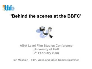 'Behind the scenes at the BBFC'