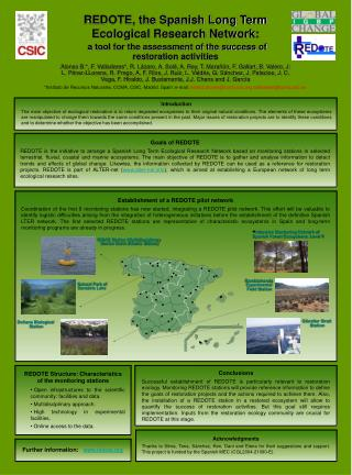 REDOTE, the Spanish Long Term Ecological Research Network: