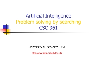 Classic AI Search Problems