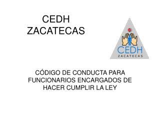 CEDH ZACATECAS