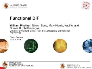 Functional DIF