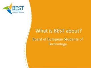 What is BEST  about?