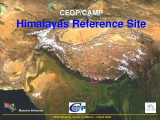 CEOP/CAMP Himalayas Reference Site