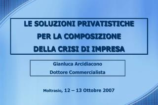 Gianluca Arcidiacono Dottore Commercialista