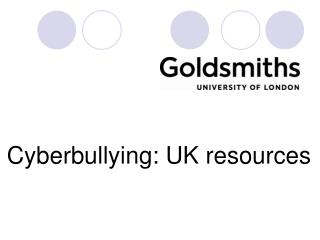 Cyberbullying: UK resources