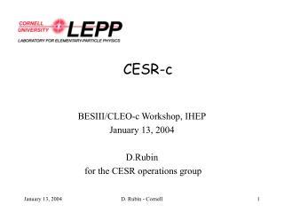CESR-c
