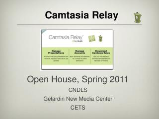 Camtasia Relay