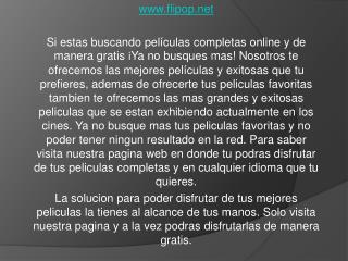 Beneficios en flipop