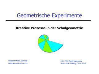 Geometrische Experimente