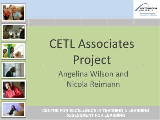 CETL Associates Project