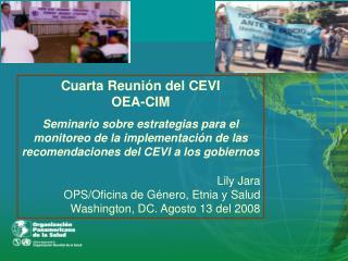 Cuarta Reunión del CEVI OEA-CIM