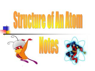 Structure of An Atom  Notes