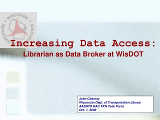 Research Data Integration  Access