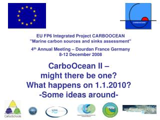 CarboOcean final report ICOS COCOS COMBINE EPOCA other running initiatives