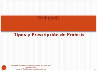 Orthpedic