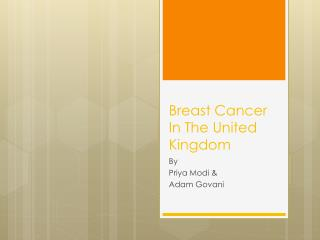 Breast Cancer In The United Kingdom