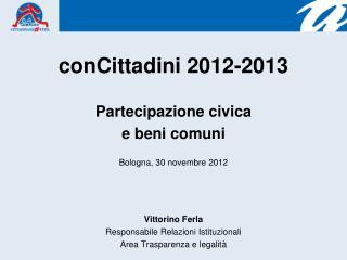 conCittadini 2012-2013