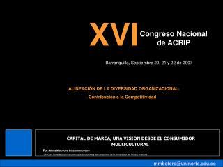 Congreso Nacional  de ACRIP