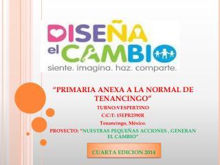 CUARTA EDICION 2014