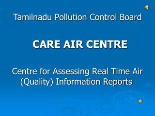 Tamilnadu Pollution Control Board