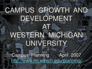Enrollment and Facilities