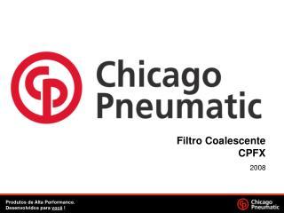 Filtro Coalescente CPFX