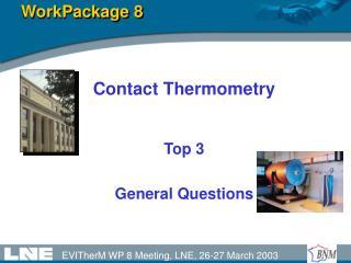 WorkPackage 8