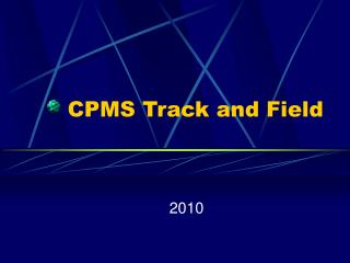 CPMS Track and Field