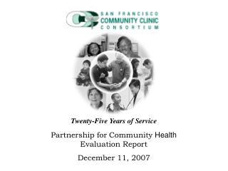 Partnership for Community  Health  Evaluation Report