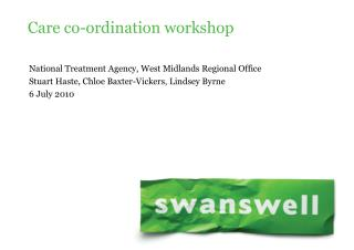 Care co-ordination workshop