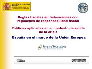 España en el marco de la Unión Europea