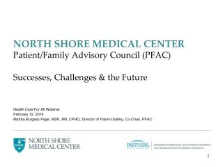 Health Care For All Webinar February 12, 2014