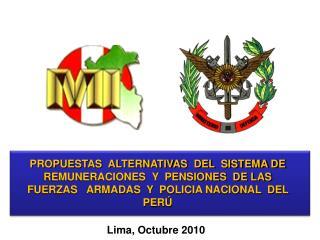 Lima, Octubre 2010