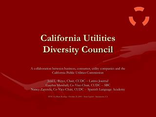 California Utilities  Diversity Council