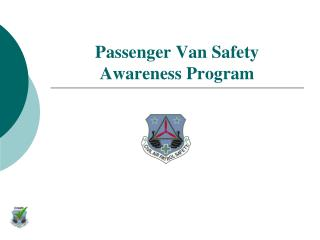 Passenger Van Safety Awareness Program