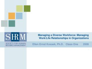 Managing a Diverse Workforce: Managing Work